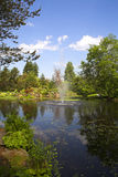 βοτανικός κήπος πηγών Στοκ Εικόνες