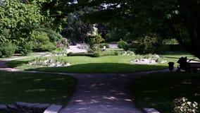 βοτανικός κήπος σε Visby Gotland (Σουηδία) Στοκ εικόνες με δικαίωμα ελεύθερης χρήσης