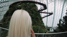 Βοτανικός κήπος της Σιγκαπούρης απόθεμα βίντεο