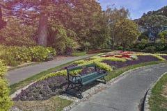 Βοτανικός κήπος του Ουέλλινγκτον, Νέα Ζηλανδία Στοκ Φωτογραφίες