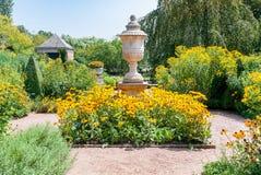 Βοτανικός κήπος του Σικάγου, Ιλλινόις, ΗΠΑ στοκ εικόνες