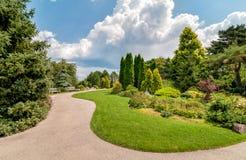 Βοτανικός κήπος του Σικάγου, Ιλλινόις, ΗΠΑ στοκ φωτογραφία με δικαίωμα ελεύθερης χρήσης