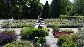 Βοτανικός κήπος visby Στοκ Εικόνες