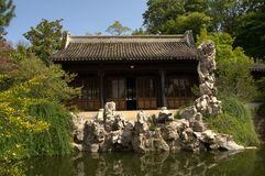 βοτανικός κινεζικός κήπ&omicron Στοκ Εικόνες