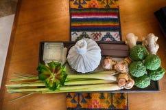 βοτανικό μασάζ Ταϊλανδός Στοκ Εικόνες