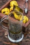 Βοτανικό, σπιτικό τσάι κρέμας Στοκ εικόνες με δικαίωμα ελεύθερης χρήσης