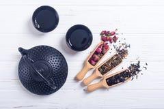 Βοτανικό τσάι παραδοσιακού κινέζικου στοκ εικόνες