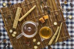 Βοτανικό τσάι Burdock Στοκ Φωτογραφία