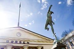 βουίζοντας ήλιος αποθεμάτων αγοράς Στοκ Φωτογραφίες
