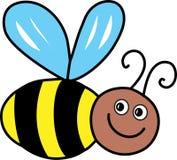 Βουίζοντας μέλισσα Στοκ Φωτογραφία