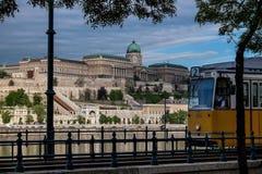 Βουδαπέστη η πρωτεύουσα της Ουγγαρίας που διασχίζεται από τον ποταμό Δούναβη Στοκ εικόνα με δικαίωμα ελεύθερης χρήσης