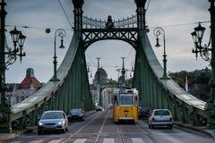 Βουδαπέστη η πρωτεύουσα της Ουγγαρίας που διασχίζεται από τον ποταμό Δούναβη Στοκ Φωτογραφίες