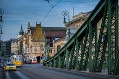 Βουδαπέστη η πρωτεύουσα της Ουγγαρίας που διασχίζεται από τον ποταμό Δούναβη Στοκ φωτογραφίες με δικαίωμα ελεύθερης χρήσης