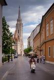 Βουδαπέστη η πρωτεύουσα της Ουγγαρίας που διασχίζεται από τον ποταμό Δούναβη Στοκ Εικόνα