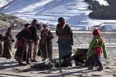 βουδισμός Θιβετιανός Στοκ εικόνα με δικαίωμα ελεύθερης χρήσης