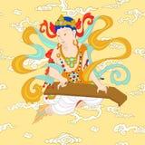 Βουδισμός Bodhisattva ν διανυσματική απεικόνιση