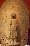 βουδιστικά αγάλματα Στοκ Φωτογραφίες