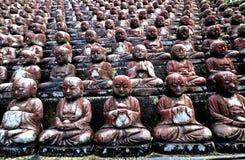 βουδιστικά αγάλματα Στοκ Φωτογραφία