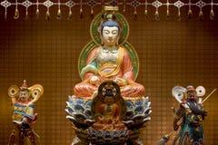 βουδιστικά αγάλματα Στοκ εικόνες με δικαίωμα ελεύθερης χρήσης