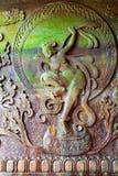 Βουδιστική ανακούφιση godness Leshan bas στοκ φωτογραφία