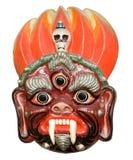 βουδιστική μάσκα mahakala θεοτ Στοκ Εικόνα