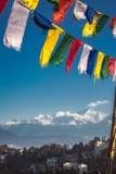 βουδιστική προσευχή σημαιών Στοκ φωτογραφία με δικαίωμα ελεύθερης χρήσης