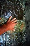 βουδιστική ρόδα προσευχής Στοκ φωτογραφία με δικαίωμα ελεύθερης χρήσης