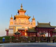 Βουδιστική χρυσή διανομή ναών του Βούδα Shakyamuni σε Elista, Δημοκρατία της Καλμουκίας, Ρωσία Στοκ φωτογραφίες με δικαίωμα ελεύθερης χρήσης