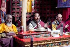 Βουδιστικοί μοναχοί, Θιβέτ, Κίνα Στοκ Εικόνα