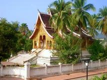 βουδιστικός βασιλικός ναός παλατιών luang prabang Στοκ Εικόνες