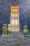 βουδιστικός ναός εισόδω Στοκ εικόνα με δικαίωμα ελεύθερης χρήσης
