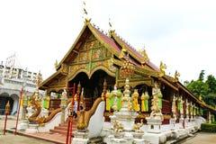 Βουδιστικός ναός που ονομάζεται Wat Ming Muang Στοκ φωτογραφίες με δικαίωμα ελεύθερης χρήσης
