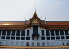 Βουδιστικός ναός σε Ayutthaya, Μπανγκόκ Ταϊλάνδη στοκ εικόνα με δικαίωμα ελεύθερης χρήσης