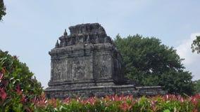 Βουδιστικός ναός σε Magelang, κεντρική Ιάβα, Ινδονησία απόθεμα βίντεο