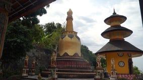 Βουδιστικός ναός στο νησί του Μπαλί Στοκ εικόνες με δικαίωμα ελεύθερης χρήσης