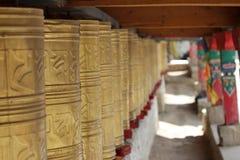 Βουδιστικός ναός στο daocheng της Κίνας στοκ εικόνες