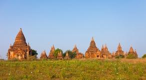 Βουδιστικός ναός σύνθετος σε Bagan στοκ εικόνες