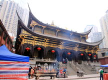 βουδιστικός ναός Στοκ Εικόνες