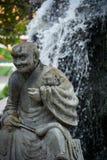 Βουδιστικός ναός Pho Wat στη Μπανγκόκ, Ταϊλάνδη στοκ εικόνα με δικαίωμα ελεύθερης χρήσης