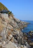 βουδιστικός σύνθετος κορεατικός ναός naksansa Στοκ εικόνες με δικαίωμα ελεύθερης χρήσης