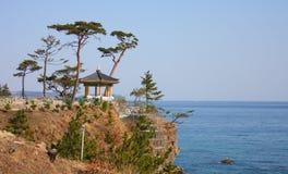 βουδιστικός σύνθετος κορεατικός ναός naksansa Στοκ Εικόνες