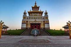 Βουδιστικός σύνθετος Bakshin Altan Sume Burkhan στοκ εικόνες