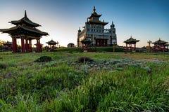 Βουδιστικός σύνθετος Bakshin Altan Sume Burkhan στοκ φωτογραφία