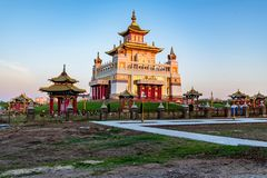 Βουδιστικός σύνθετος Bakshin Altan Sume Burkhan στοκ εικόνα με δικαίωμα ελεύθερης χρήσης