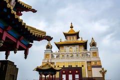 Βουδιστικός σύνθετος Bakshin Altan Sume Burkhan στοκ φωτογραφία με δικαίωμα ελεύθερης χρήσης