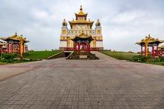 Βουδιστικός σύνθετος Bakshin Altan Sume Burkhan στοκ φωτογραφίες με δικαίωμα ελεύθερης χρήσης