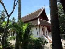 Βουδιστικό μοναστήρι σε Luang Prabang, Λάος Στοκ Εικόνες