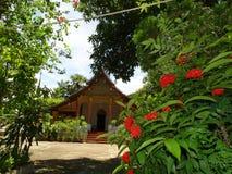 Βουδιστικό μοναστήρι σε Luang Prabang, Λάος Στοκ εικόνες με δικαίωμα ελεύθερης χρήσης