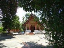 Βουδιστικό μοναστήρι σε Luang Prabang, Λάος Στοκ εικόνα με δικαίωμα ελεύθερης χρήσης