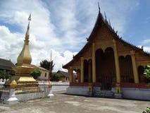 Βουδιστικό μοναστήρι σε Luang Prabang, Λάος Στοκ Φωτογραφία